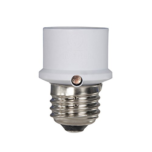 Lamp Lamps Plus Rustic Table (Westek SLC4CW Dusk-to-Dawn Light Control, White)