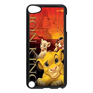 Painted Lion back phone Case cover ipod touch 5