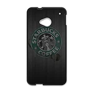 SANLSI Starbucks design fashion cell phone case for HTC One M7