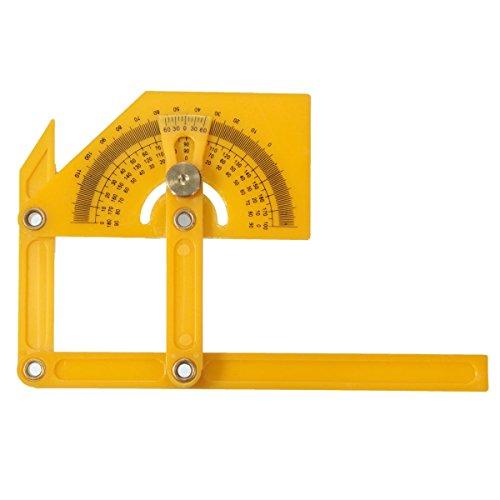 Lazer Gauge (Plastic Adjustable Bevel Angle Gauge Level Indicator Angle Finder Protractor Mea)