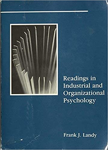 Amazon.com: Readings in Industrial and Organizational ...