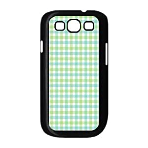 Custom Check Pattern Back Cover Case for SamSung Galaxy S3 I9300 JNS3-092