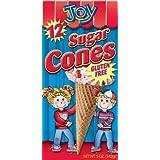 Joy Gluten Free Sugar Cones 5oz (Pack of 3)