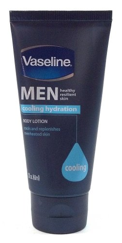 Vaseline Men Cooling Hydration Travel Size Body Lotion 2 Oz