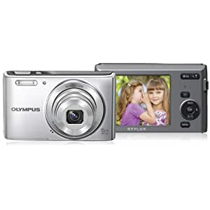 Olympus VG165S 14-megapixel 5x 26mm Wide Optical Zoom 2.7 Inch Lcd - Silver