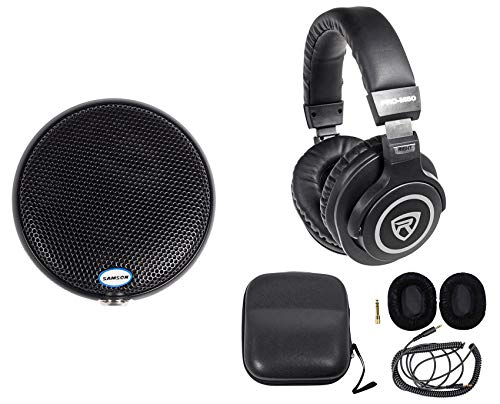 Samson CM11B Omni-directional Boundary Microphone Church Podium Mic+Headphones