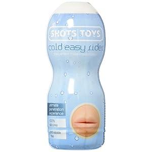 Shots Toys Easy Rider Cold Masturbator, Mouth