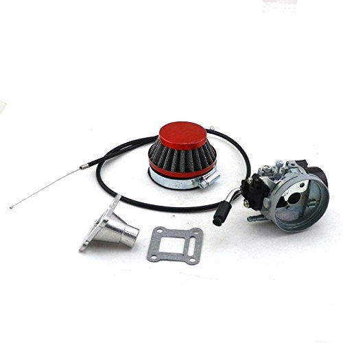 YunShuo Performance Carburetor Air Filter Throttle Cable 47 49 Pocket Mini Bike ATV Carb UKAIALIDTV2822