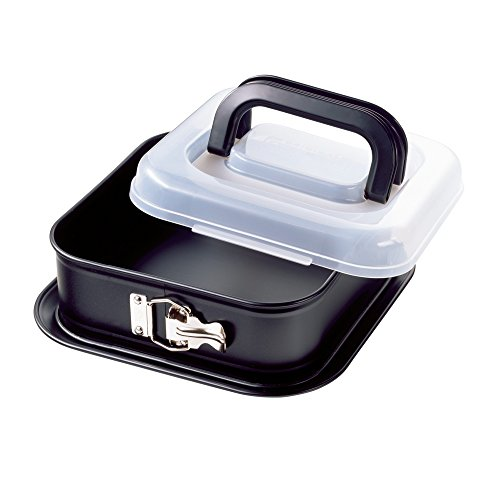Kaiser Bake&Take 623009 Springform Cake Tin with Transportation Lid 24 x 24 cm