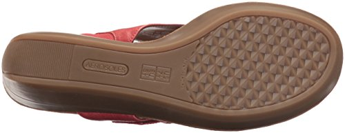 Aerosoles Women's Flower Wedge Sandal Coral H6zS2gexr3