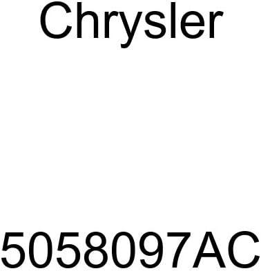 Genuine Chrysler 5058097AC Cooling Heater Return Hose