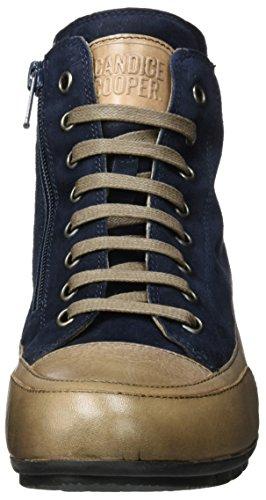 Candice Cooper Camoscio, Sneaker a Collo Alto Donna Blau (Notte)