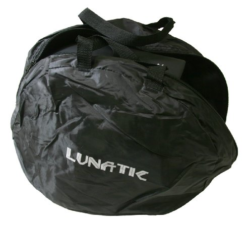 24 Lunatic Deluxe Helmet Bags - Brand New - Soft Lining - Black by Lunatic