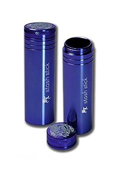 Black Leaf « Stash Stick » - Réservoir en aluminium - Longueur:95mm-Diamètre:20 mm, 25 mm ou 30 mm - Fabrication de qualité supérieure - Qualité lourde - Idéal pour voyager.