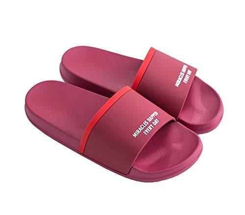 Scarpe Cliont Da Antiscivolo Pantofole Morbido Regalo Uomo Rosso E Per Bagno Estate Natalizio Interno Donna wY0aYqrx