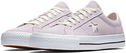 f2f4435d73e9 Converse Unisex One Star Pro Ox Barely Grape White Gum Skate Shoe 8 Men