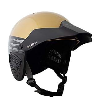 Casco Gul Elite para kayak en color gris muy ligero. Con un precio muy barato es ideal para todos los deportes de agua donde necesitemos proteger nuestra cabeza