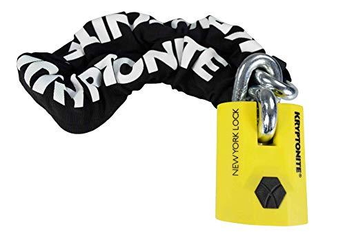 Price comparison product image Kryptonite New York Legend 1590 Chain Bicycle Lock with New York Padlock Bike Lock