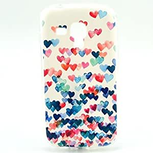 Love Pattern Soft Case for Samsung Galaxy Trend Duos S7562