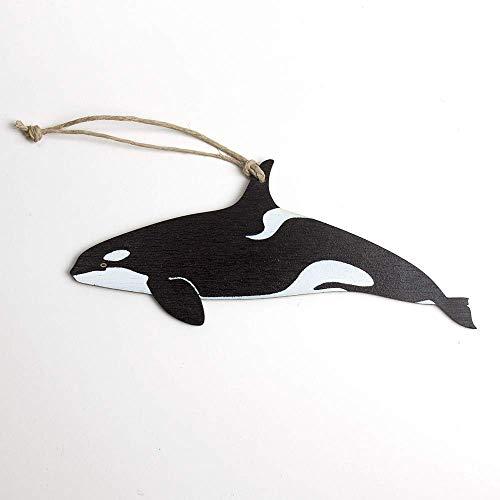 Killer Whale, Orca, Christmas Ornament