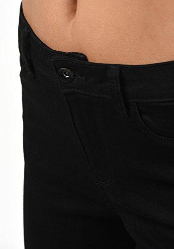 Diamond Mid Black Denim Couleur Jeans Femme Taille Vero XL Strech pour Rise L30 Moda Pantalon 8PCqxnaw5T