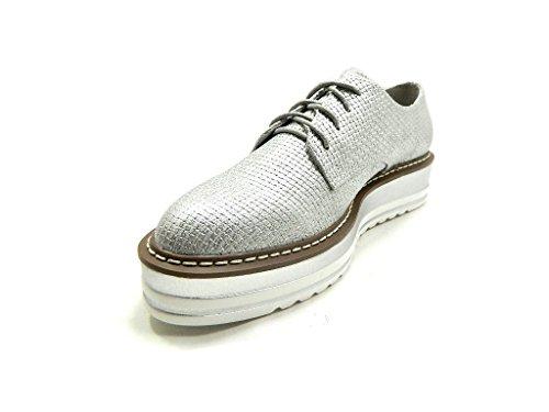 XTI Sneakers, Damen Sneaker Silber Silber/Schwarz Silber / Schwarz