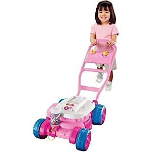 Fisher Price Bubble Mower - Pink by L&L Merchandise