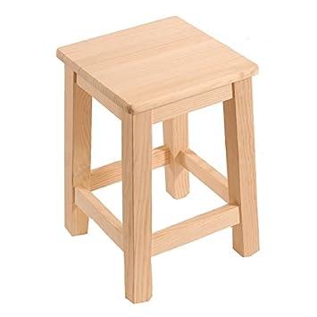 Muebles pino sin tratar with muebles pino sin tratar lo - Taburete cocina madera ...