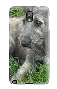 Awesome Zjr-7506LgHVFmuQ HollyGasser Defender Tpu Hard Case Cover For Galaxy Note 3- Irish Wolfhound Puppies