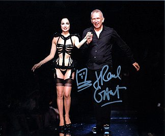 jean-paul-gaultier-8x10-fashion-designer-photo-signed-in-person