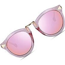 ATTCL Vintage Fashion Round Arrow Style Wayfarer Polarized Sunglasses for Women