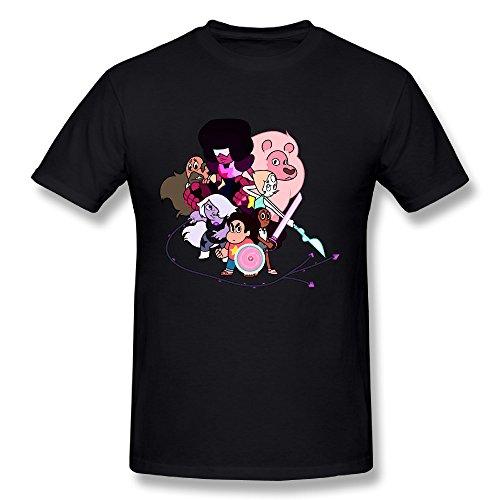 Steven Universe Belly Button Gem T-Shirt (Belly Dance Costumes Clearance)