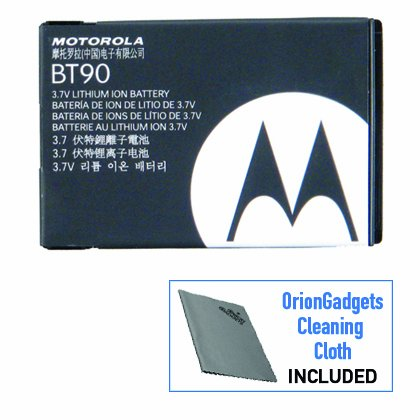 NEW MOTOROLA OEM BT90 EXTENDED BATTERY FOR Q9m KRZR K1M [Electronics]