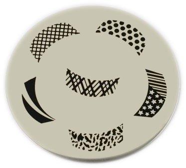 Amazon konad stamping nail art image plate m19 nail art konad stamping nail art image plate m45 prinsesfo Gallery