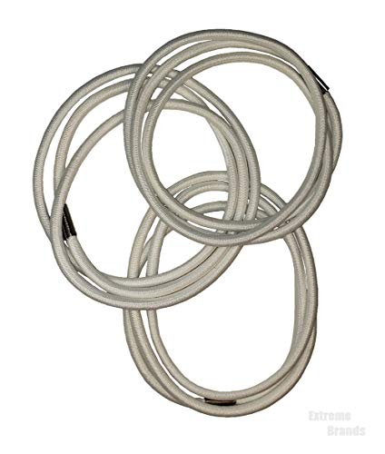Extreme Trash Can Bands Sets of 3, Kitty Litter Liner Bands, Recycle Can Bands, Trash Compacter Bands, Trash can Bands Set/3, These Can Bands are Elastic, Trash Can Bands Kitchen and Office (3 Bands)
