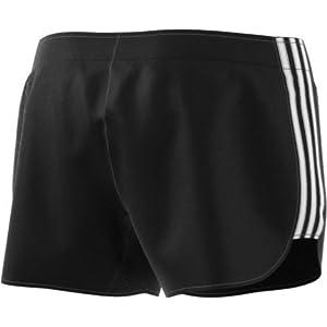 """adidas Women's Running M18 Shorts, Black/White, Medium/3"""""""
