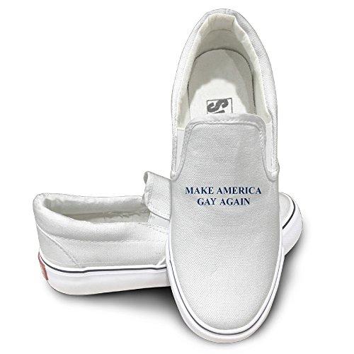 make-america-gay-again-fashion-slip-on-canvas-sneakers-44-white