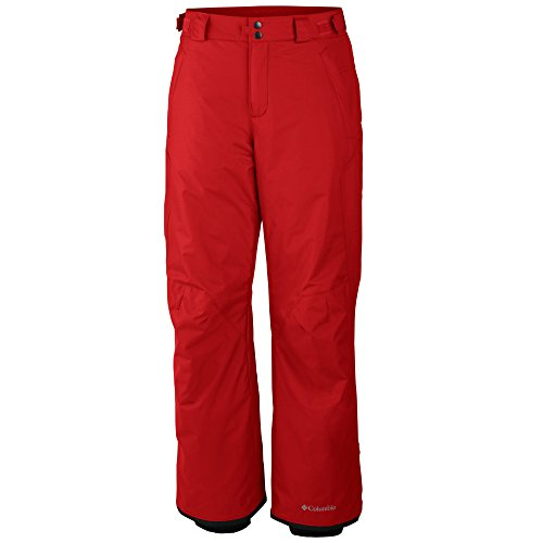 Columbia Men's Arctic Trip Omni-Tech Ski Snowboard Pants-Red-Medium
