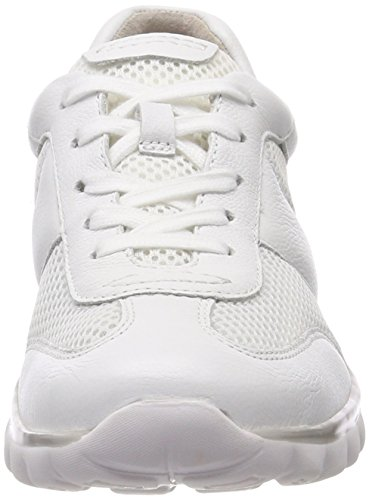 Zapatos Blanco Cordones Rollingsoft Mujer de para Weiss Derby Gabor Shoes qB7xwZORR