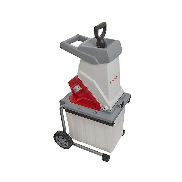 Ikra-81012520-biotrituratore-elettrica-IEG-2500-incl-Scatola-di-Raccolta-50l-Lame-a-Perdere-di-Lunga-Durata2500-W-230-V