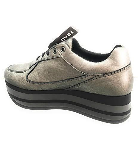 Donna Misura Antracite Sneaker 40 Frau n86UXwqA6