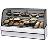 Federal Industries CGR5948CD Curved Glass Refrigerated Deli Case