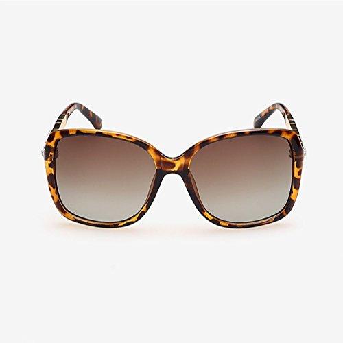 de nuevas sol gafas sol marco 03 clásico Gafas 02 espejo conducción CJ gran polarizadas de de mujer de de gYpIWBqw