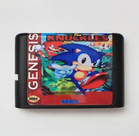 Taka Co 16 Bit Sega MD Game Sonic & Knuckles 3 16 Bit MD Game Card For Sega Mega Drive For Genesis