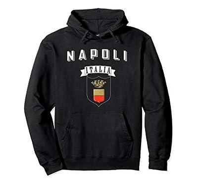 Napoli Italia Hoodie Naples Italy Hooded Sweatshirt