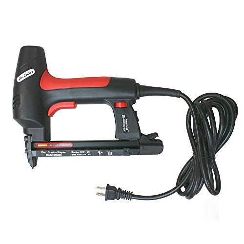 - AIR LOCKER U630E Electric 22 Gauge 3/8 Inch Crown Upholstery Stapler 18 Gauge Brad Nailer