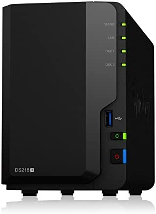 Synology bay DiskStation DS218 Diskless product image
