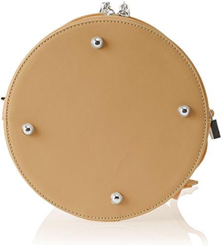 8638 tan Bag Shoulder Woman Borse Tan Brown Chicca T5w6q