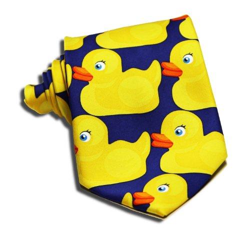 Rubber Duck Necktie - How I Met Your Mother Barney's Ducky Tie