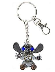 Disney Parks Keychain - Mechanical Kingdom - Steampunk Stitch
